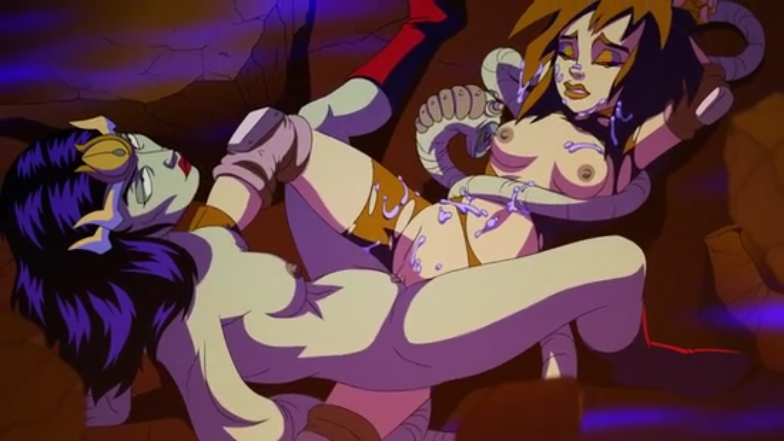 Monster Cartoon Porn Ghostbusters Extreme Sex-2819