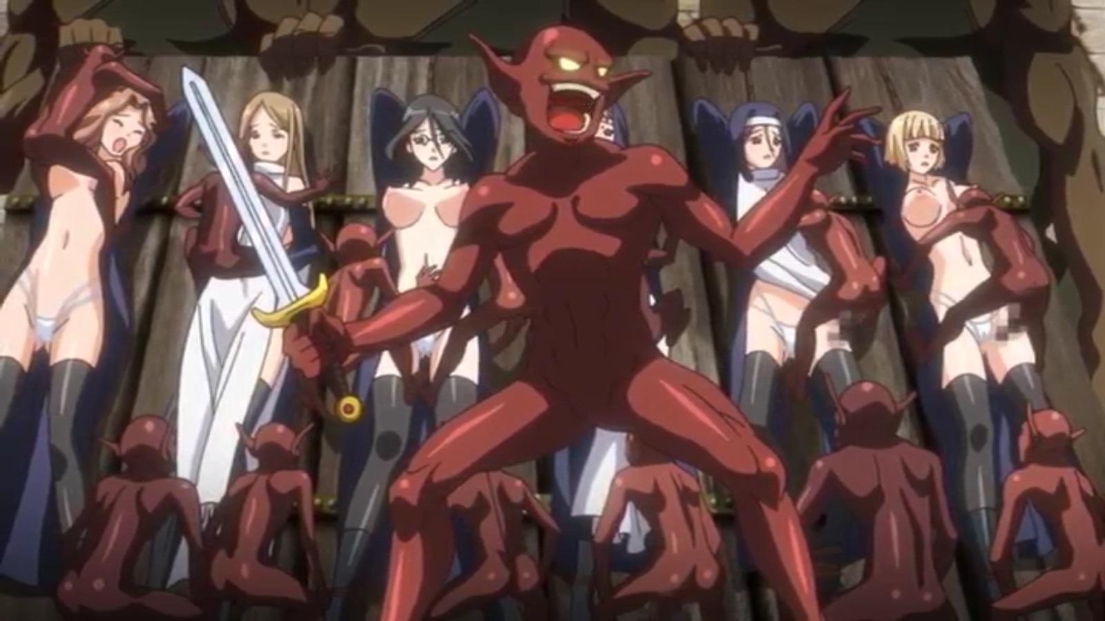 Hentai Teen Fucked Monsters